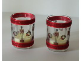 Nutcracker Tea Light Candle Holders