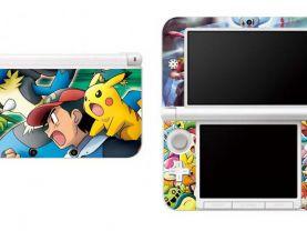 Pokemon Nintendo 3DS XL LL Vinyl Skin Decal Sticker