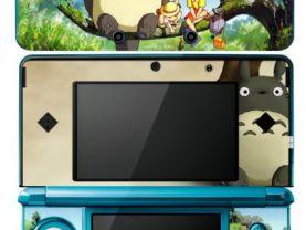 MY NEIGHBOR TOTORO Nintendo 3DS Vinyl Skin Sticker Decal