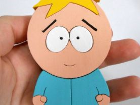 Handmade Butters Stotch South Park Figure