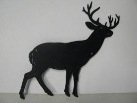 Whitetail Deer 155 Metal Art Wildlife Silhouette