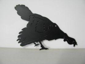 Turkey 435 Wildlife Metal Art Silhouette