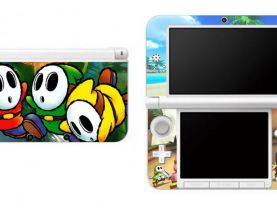 Mario Shy Guy Nintendo 3DS XL LL Vinyl Skin Decal Sticker