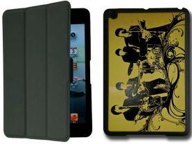 The Beatles IPad Mini 1 Black Protective Fold Smart Cover Case