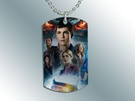 Percy Jackson Dog Tag Pendant Necklace