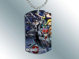 Robotech Macross  Dog Tag Pendant Necklace #2