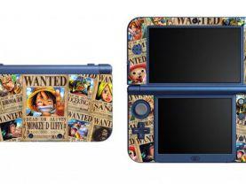 One Piece NEW Nintendo 3DS XL LL Vinyl Skin Decal Sticker