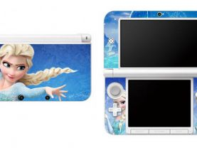 Frozen Elsa Nintendo 3DS XL LL Vinyl Skin Decal Sticker