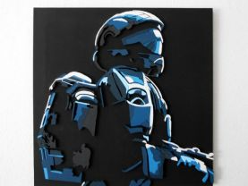 Handmade Halo 3: ODST wall hanging (Large)