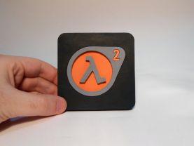 Handmade Half Life 2 coaster