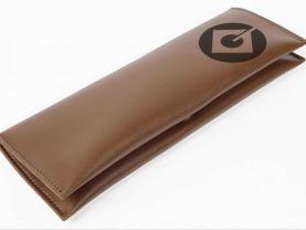 Minion Logo Leather Pencil Case Pouch Bag