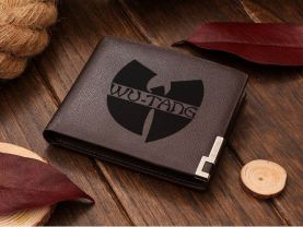 Wu Tang Clan Leather Wallet