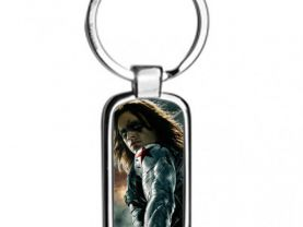 Winter Soldier Metal Keyring Keychain