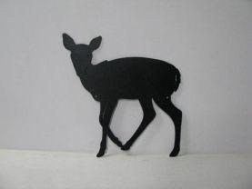 Deer 064 Large Standing Wildlife Metal Art Silhouette