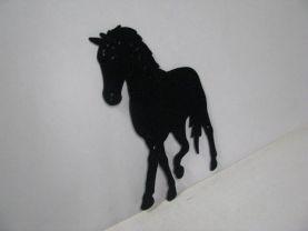 Horse 206 Large Walking Farm Metal Art Silhouette