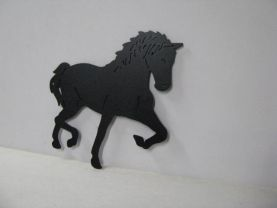 Horse 209 Large Walking Farm Metal Art Silhouette