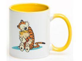 Calvin and Hobbes  Ceramic Coffee Mug CUP 11oz