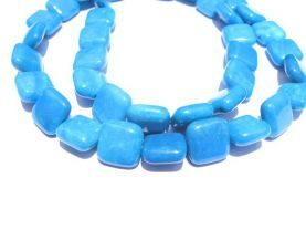 bulk gemstone  hemimorphite stone bead 10mm 5strands 16inch strand ,high quality square box teal blue jewelry beads