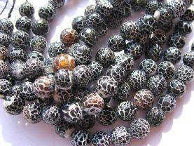 high quality  fire agate onyx gemstone  round ball  black jet  assortment jewelry  beads 12mm--5strands 16inch/per strand