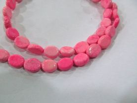 wholesale LOT  8x10mm  turquoise gemstone oval egg  pink red assortment jewelry beads --10strands 16inch/L