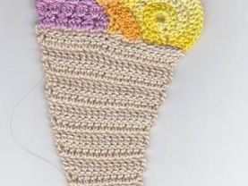 Crocheted Cornucopia Bookmark Kit