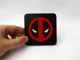 Handmade Deadpool coaster