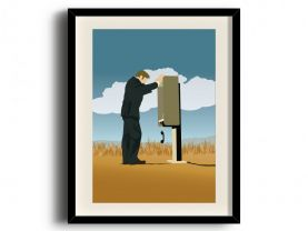 Better Call Saul, Saul Goodman minimalist poster, Better Call Saul digital art poster V3
