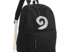 Hearthstone Symbol School Backpack