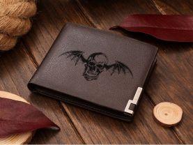 AVENGED SEVENFOLD Death Bat Girl Leather Wallet