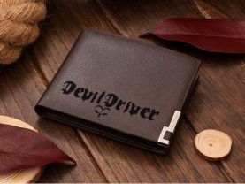 Devil Driver Leather Wallet