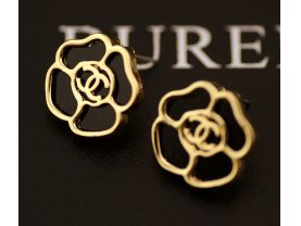 wholesale 10 pairs earrings in gold or silver 1.6*1.6cm
