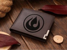 Fire Nation Leather Wallet