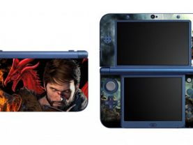 Dragon age NEW Nintendo 3DS XL LL Vinyl Skin Decal Sticker