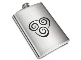 Avatar The Last Airbender Air Nomad Liquor Stainless Steel Flask - 8 oz