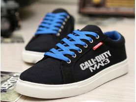 Call Of Duty Modern Warfare 3 Canvas Sneakers Sport Casual Shoes