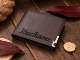 BLOODBORNE Leather Wallet