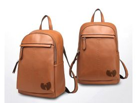Wu Tang Clan Genuine Leather Backpack