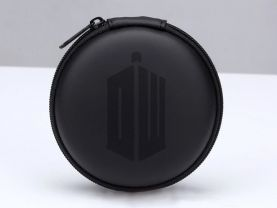 Doctor Who Earphone Carrying Hard Case