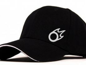Final fantasy Black Mage Symbol Flocking Adjustable Baseball Cap