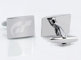 Gran Turismo Sport Stainless Steel Square Cufflinks