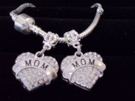 Mom Charm Mom European charm Best mom Gift Mother gift Mommy gift Mum Gift Charm only