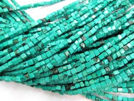 high qulaity 2strands Turquoise  stone nuggets cube box square diamond green blue white red purple mixed wholesale loose beads  4 6 8 10mm