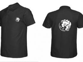 Bioshock Bucking Bronco Vigor Flocking Cotton POLO T-Shirt Tee