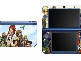 Tales of the Abyss NEW Nintendo 3DS XL LL Vinyl Skin Decal Sticker