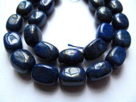 genuine Lapis Lazuli Gemstone ,brick cube  lapis bead Barrel Drum  blue gold loose bead 10x14mm full strand