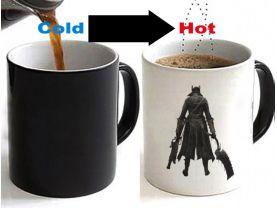 BLOODBORNE Color Changing Ceramic Coffee Mug CUP 11oz