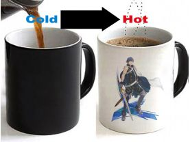 Fire Emblem Chrom Color Changing Ceramic Coffee Mug CUP 11oz