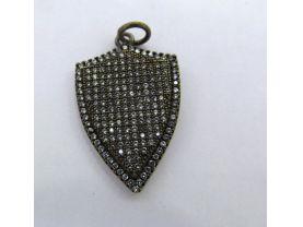 12pcs 18-50mm CZ Micro Pave Diamond Cubic Zirconia teadrop drop  earrings  Healing Hand sharp spikes  arrow Charms Pendants