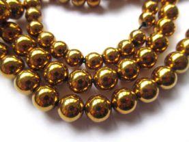 25%off--2-14mm full strand  Hematite gem gold  plated ,round ball silver gold brozne gunmetal mixed  bead