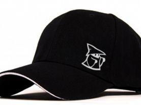 Black Mage  Flocking Adjustable Baseball Cap